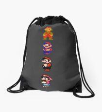 All 8 Bit Mario Drawstring Bag