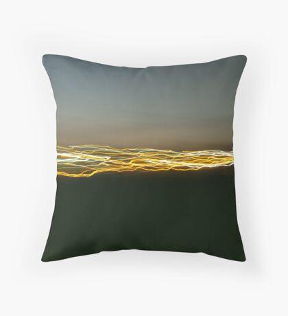 Speed of the light Throw Pillow