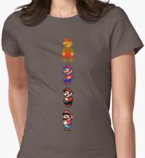 Camiseta entallada para mujer Todo 8 bits Mario
