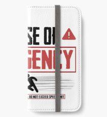 Emergency iPhone Wallet/Case/Skin