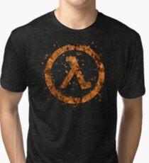 Half Life Splatter Tri-blend T-Shirt