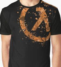 Half Life Splatter Graphic T-Shirt