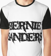 Bernie Sanders Metal Graphic T-Shirt
