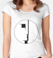 Camiseta entallada de cuello redondo Logotipo Bauhaus
