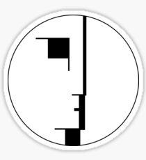 Bauhaus Logo Sticker
