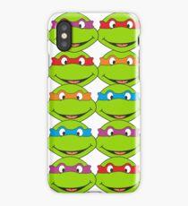 TOO MANY NINJA TURTLES iPhone Case/Skin