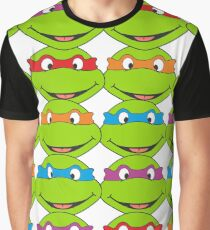 TOO MANY NINJA TURTLES Graphic T-Shirt