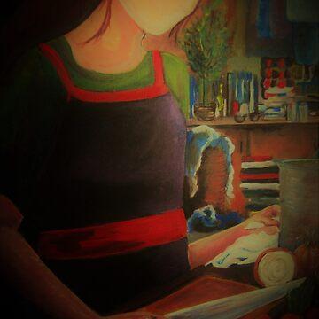 Women in the kitchen by Izzy83