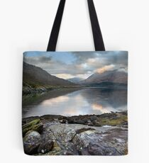 Sprited Landscape Tote Bag