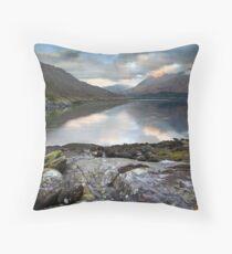 Sprited Landscape Throw Pillow