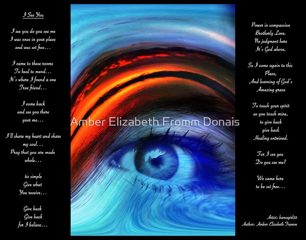 I SEE YOU  Version 2         Bonita Moore IPA by Amber Elizabeth Fromm Donais