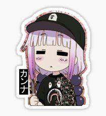 Kanna Kamui Bape Sticker