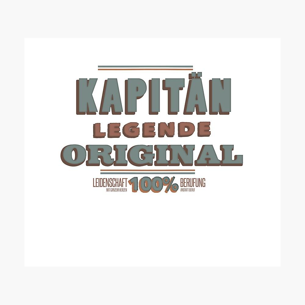 Kapitän Fotodruck