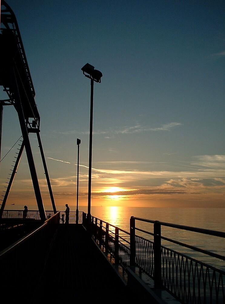 Blackpool Pier, Lancashire by Jervaulx