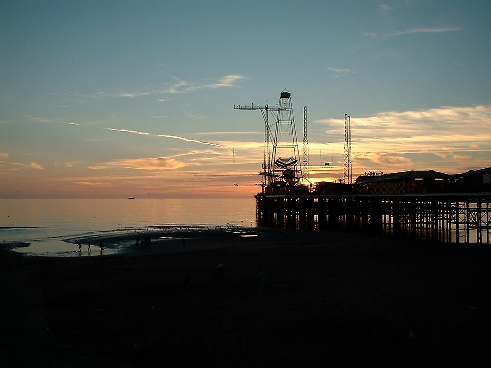 Blackpool Pier 2, Lancashire by Jervaulx