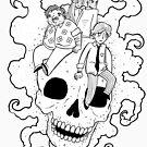 Death Inc. Skull by notsotiny