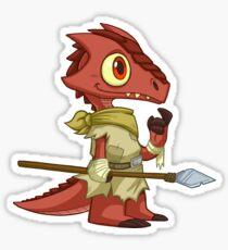 Tiny Kobold - Cute D&D Adventures Sticker