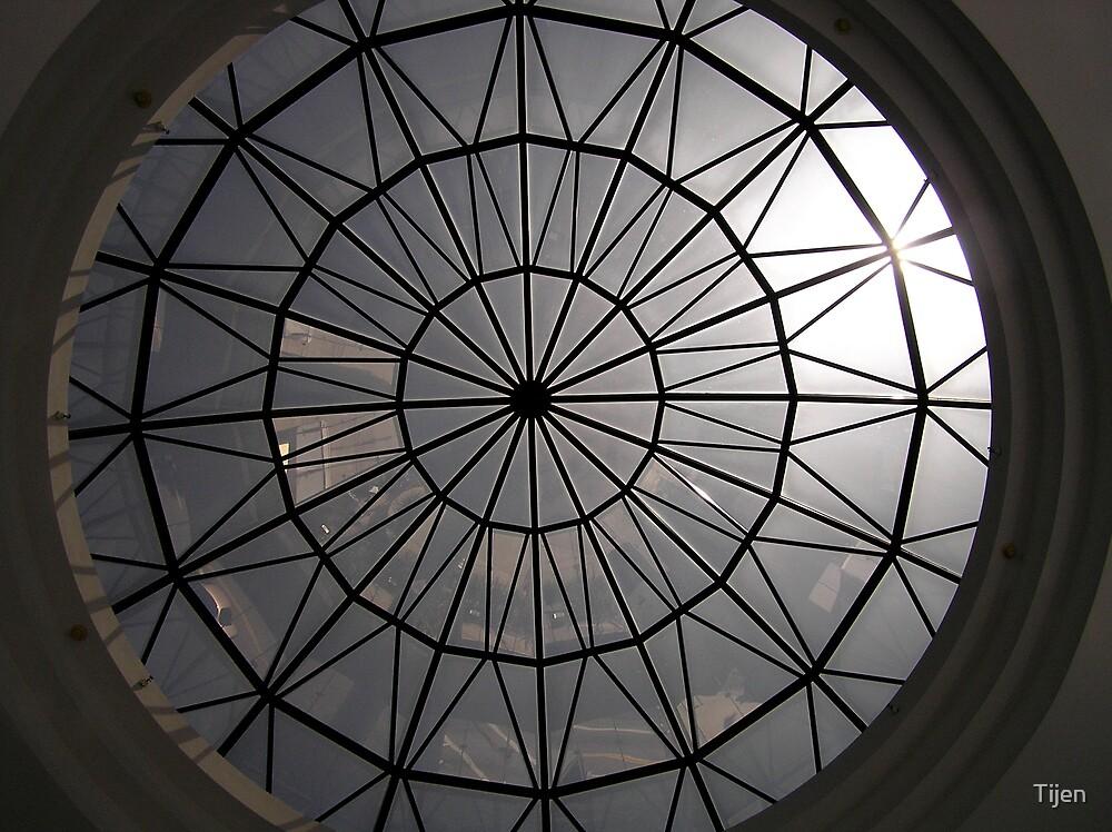 sun peeking dome by Tijen