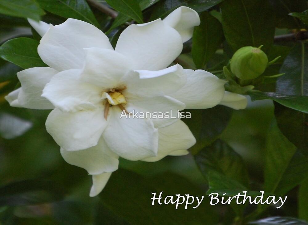 'Gardenia' Birthday by ArkansasLisa
