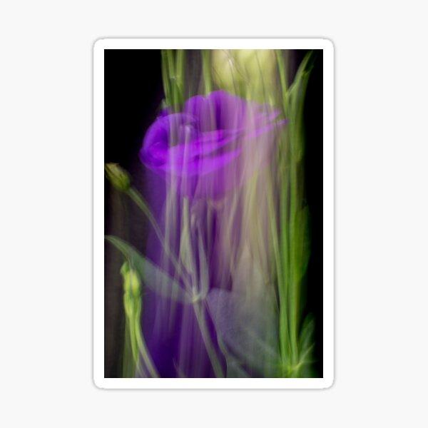 Fleur Blur-Abstract Purple Flower Photo Sticker