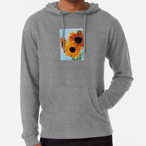 SERENITY Sunflowers Lightweight Hoodie