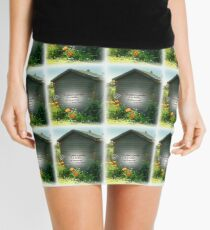 Brightening the Garden  Shed Mini Skirt