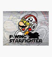 P-Wing Starfighter (Print Version) Photographic Print