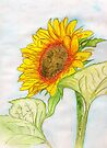 The Prize Sunflower of the Summer 2012 in NJ by Anne Gitto