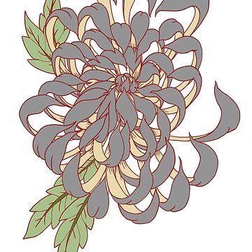 Chrysanthemum colour  by SinAddict