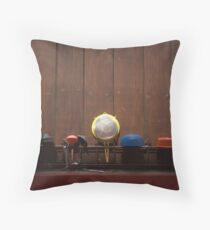 to dry Throw Pillow