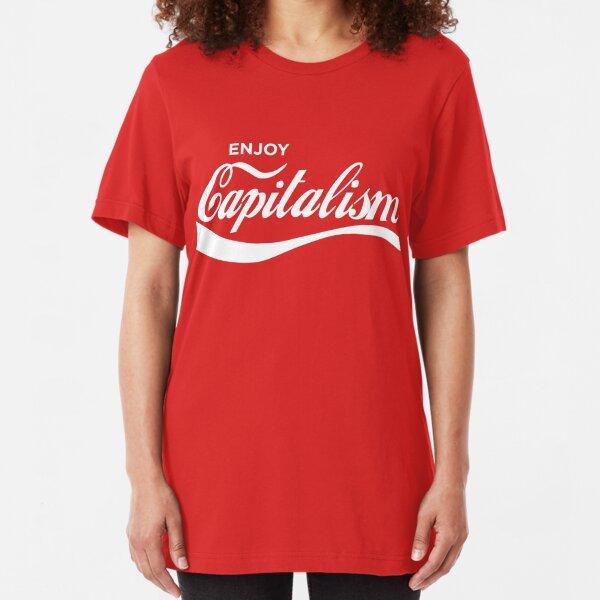 Enjoy Capitalism Slim Fit T-Shirt