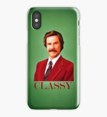 ANCHORMAN - The Legend of Ron Burgundy. iPhone Case