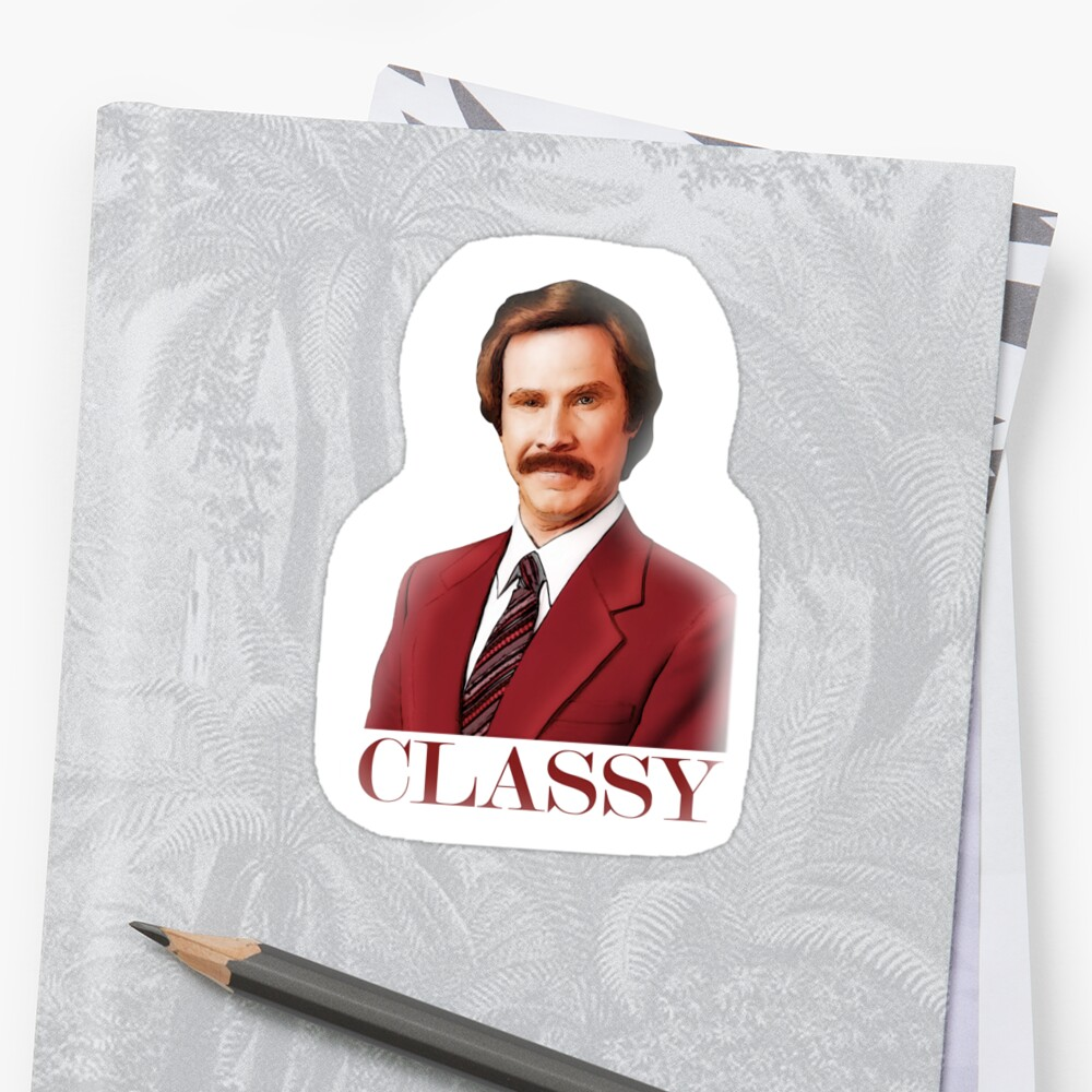 ANCHORMAN - The Legend of Ron Burgundy. by John Medbury (LAZY J)