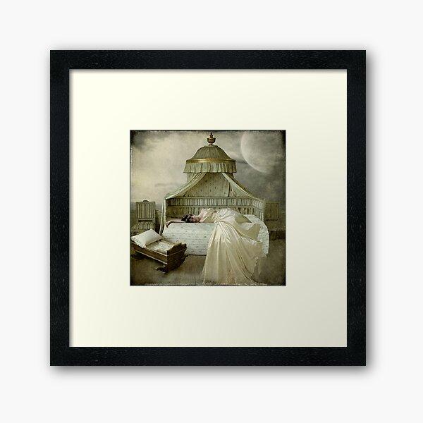 Missing... Framed Art Print