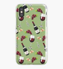 Wine Pattern iPhone Case/Skin