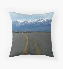 just a little further Throw Pillow