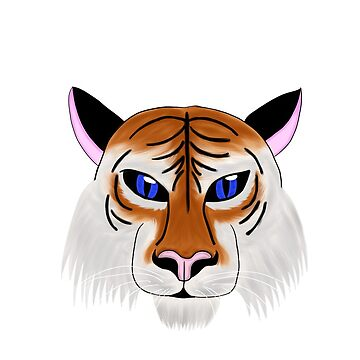 Tiger iPhone case by OrchidRothwell