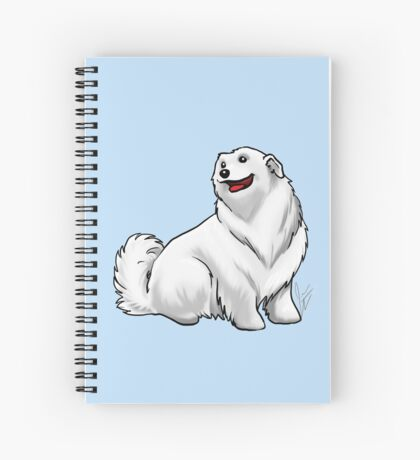 Great Pyrenees Spiral Notebook