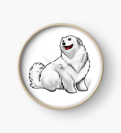 Great Pyrenees Clock