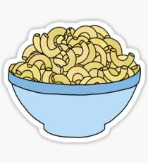 bowl of mac and cheese Sticker