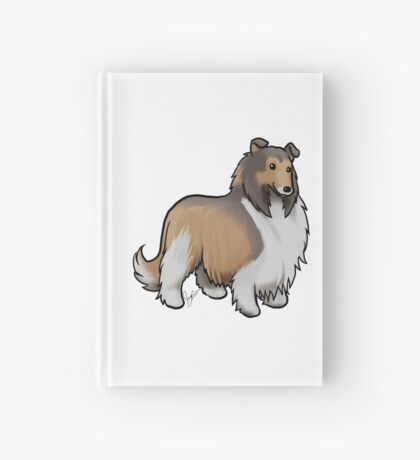Collie Hardcover Journal