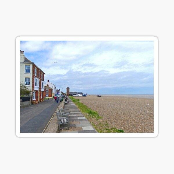 Aldeburgh Esplanade Sticker