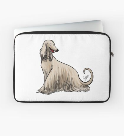 Afghan Hound Laptop Sleeve