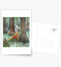 Mond um Mittag Postkarten