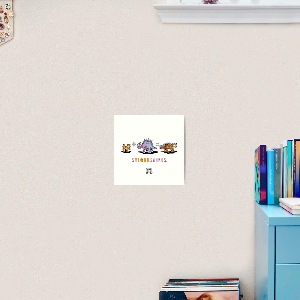 STIGERSAURUS™: Math Art Print