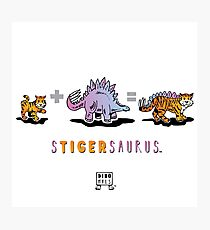 STIGERSAURUS™: Math Photographic Print