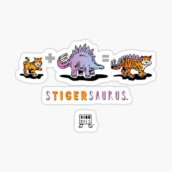 STIGERSAURUS™: Math Sticker