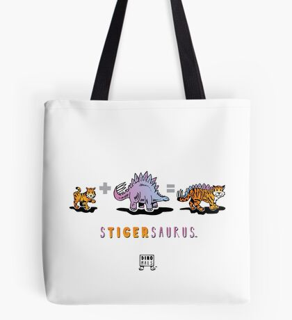 STIGERSAURUS™: Math Tote Bag
