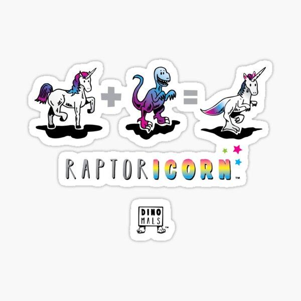 RAPTORICORN™: Math Sticker