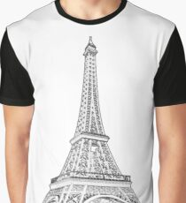 The Eiffel Tower Graphic T-Shirt